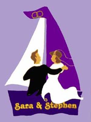 352 Wedding Sailboat