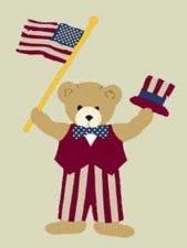 Friendly Bear House Flags
