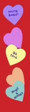 Valentine Lamppost Flags