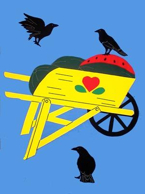 Crows & Wheelbarrow